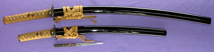 koshirae (dai shou set:long and short set) Picture