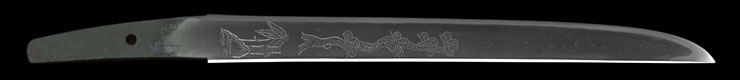 tantou No signature [sue mihara] Picture of blade