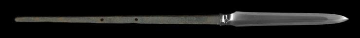 yari [noto_no_kami yasuyuki] (taikou) Picture of blade