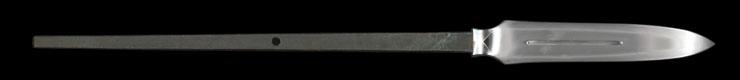 yari [kawachi_no_kami kunisuke] (1 generations) (sintou jou-saku) Picture of blade