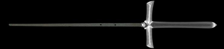 jumonji yari [bushu shitahara_ju naiki yasushige] Picture of blade