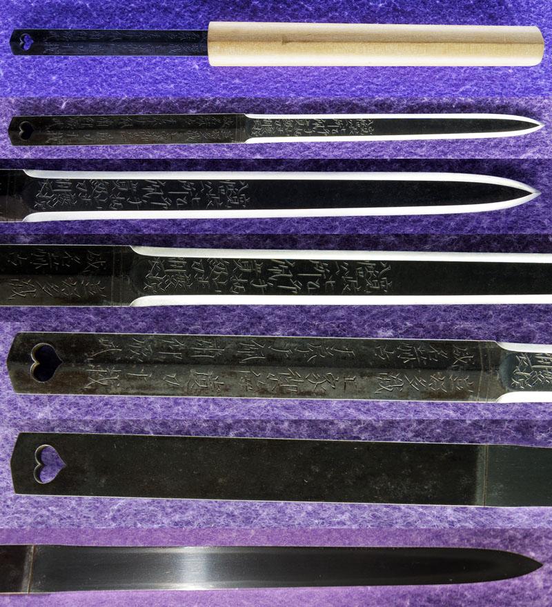 貫級刀 (馬針) Picture of parts