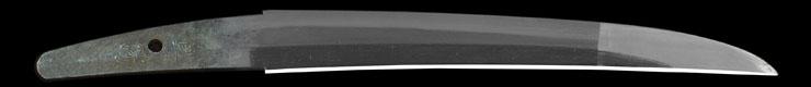 tantou [naokatsu](yamon naokatsu) Picture of blade