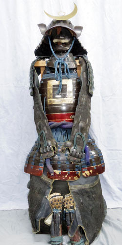 Japanese Samurai Armor (Japanese Antique Suit of Armor) Picture