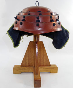 (Antique Kabuto : Japanese antique helmet choutin Kabuto) Picture