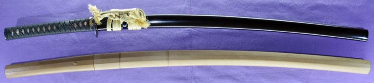 katana [omi_no_kami fujiwara tsuguhiro](wazamono) Picture of SAYA