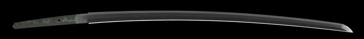 katana [yasuyoshi SHOWA18] (ajiki yasuyoshi)(yasukuni_tou) Picture of blade
