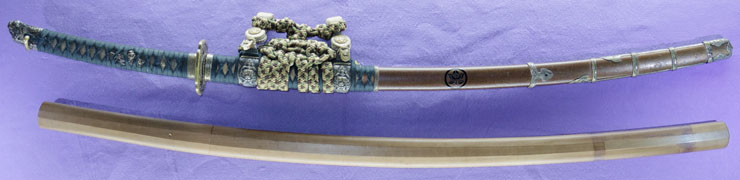 katana [yasuyoshi SHOWA18] (ajiki yasuyoshi)(yasukuni_tou) Picture of SAYA
