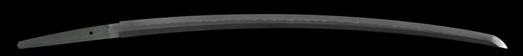 katana [omi_no_kami fujiwara tsuguhiro] (wazamono) Picture of blade