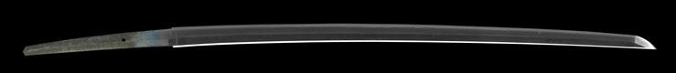 katana [echigo_no kuni takada_ju fujiwara kanehiro MEIJI 39] Picture of blade
