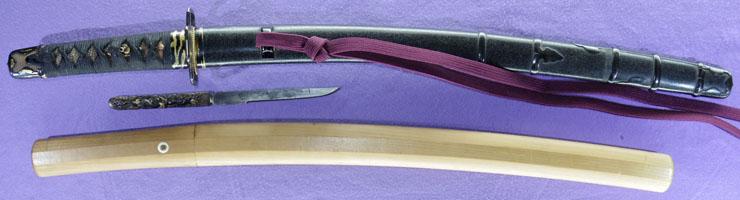 wakizashi [teishitsu_gigei_in sugawara kanenori TAISHO 6](miyamoto kanenori) Picture of SAYA