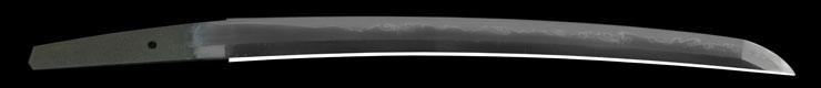 wakizashi [minryushi toshizane BUNSEI 4] (hamabe minryushi toshizane) (sinsintou jou-saku) Picture of blade