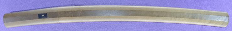 wakizashi [minryushi toshizane BUNSEI 4] (hamabe minryushi toshizane) (sinsintou jou-saku) Picture of SAYA