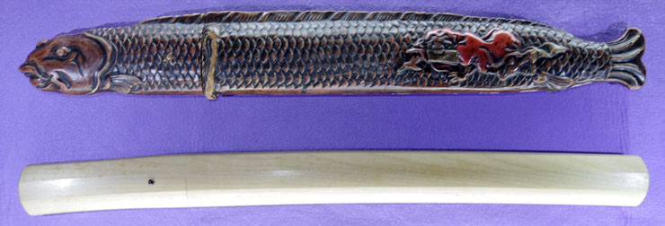 wakizashi No signature [shimosaka] Picture of SAYA