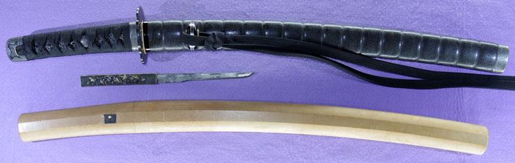 wakizashi [mita gennoshin taira sukeyoshi TENPO 10] Picture of SAYA