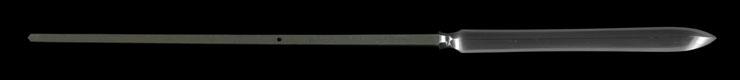 yari [bakufu_shi hisayuki KAEI 6] (kawai hisayuki) Picture of blade