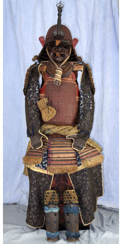 Japanese Antique Suit of Armor (haruta katsusada) Picture
