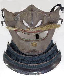 Iron Menpo (Jamanese Armor Samurai Mask) Picture