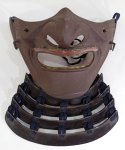 Tetsu Menpo (Jamanese Armor Samurai Mask) Picture