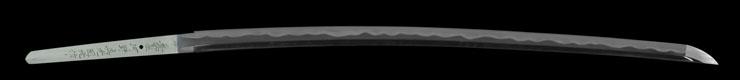 katana [Buzen_ju kouno sadamitsu kunimitsu saku HEISEI 18] Picture of blade