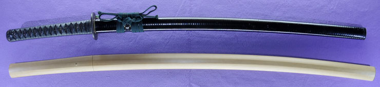 katana [hayashi shigehide KAEI 5] (Disciple of Taikei Naotane)(omura hanshi) Picture of SAYA