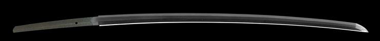 katana [aizu_ju fujiwara michinaga KEIO 2] (miyoshi nagamichi 9 generations) Picture of blade