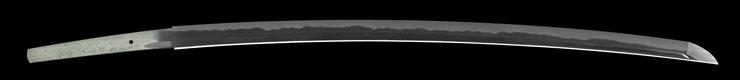 katana [shinano_no_kuni_ni_oite kanehama noboru SHOWA 57] (kanehama kiyochika) Picture of blade