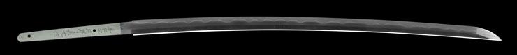 katana [buzen_ju kouno sadamitsu saku bukoku_ju kunimitsu saku HEISEI 13] Picture of blade