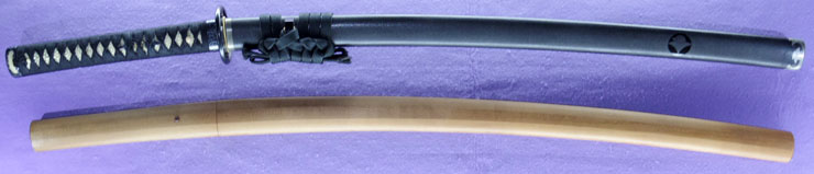 katana [koretoshi] (The first signature of chounsai tsunatoshi 2 generations) (sinsintou jou-saku) Picture of SAYA