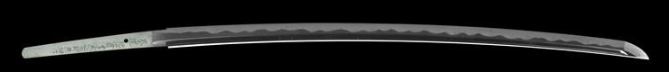 katana [bushidou higo_koku yatsushiro_ju akamatsutarou kanehiro HEISEI 29] (shinsakutou new sword) Picture of blade