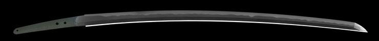 katana [musashitarou yasukuni SHOTOKU 6] (sintou jou-saku) Picture of blade