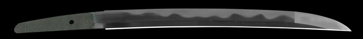 wakizashi [suishinshi masahide BUNKA 5] (kaou)(suishinshi masahide 1 generations) (sinsintou saijou-saku) Picture of blade