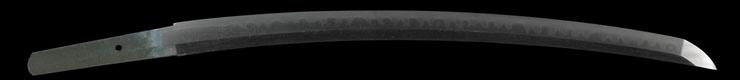 wakizashi [bizenkoku osafuneju sukesada kiyouho 5] Picture of blade