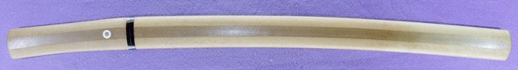 wakizashi [sakai ikkansai shigemasa hori_dosaku SHOWA 28] (mukansa) Picture of SAYA