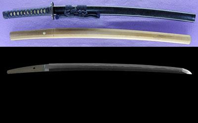 wakizashi [hizenkoku oumi_no_kami tadayoshi] (hizenkoku oumi_no_kami tadayoshi 6 generations) (sinsintou jou-saku)thumb