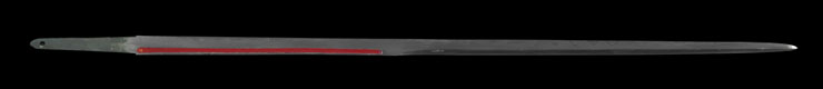 wakizashi No signature [Sword cane] (zatoichi stick) Picture of blade