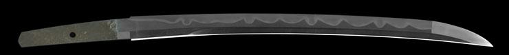 wakizashi [katou tsunatoshi BUNSEI 8] (1 generation) (sinsintou jou-saku) Picture of blade