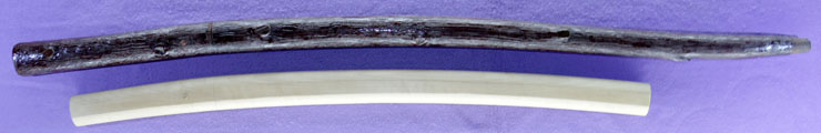 wakizashi No signature [Sword cane] (zatoichi stick) Picture of SAYA