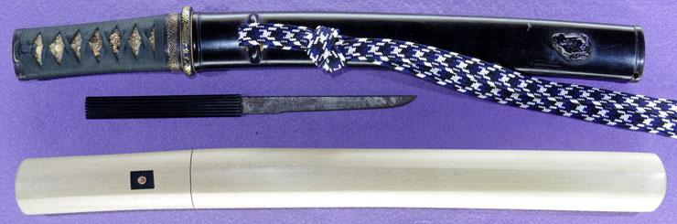 tantou [suketsugu] (The Muromachi era latter period) Picture of SAYA