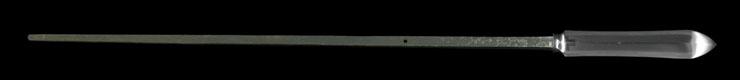 yari [tanemitsu] (shinkei tanemitsu) (sinsintou jou-saku) Picture of blade