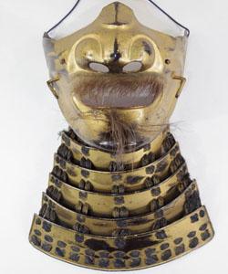 Iron Menpo(Jamanese Armor Samurai Mask) Picture