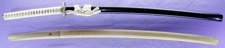 katana [aoi mon] (yasutsugu edo 3 generation) (sintou jou-saku) Picture of SAYA