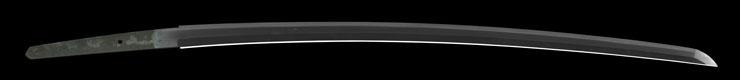 katana [yasuyoshi SHOWA18] (ajiki yasuyoshi) (yasukuni_tou) Picture of blade
