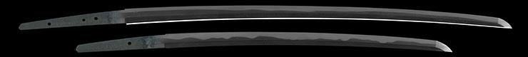dai shou hitokoshi(long and short set)dai katana [kazusa_no_suke fujiwara kaneshige] (sintou jou-saku) (wazamono)shou wakizashi [kazusa_no_suke fujiwara kaneshige] (sintou jou-saku) (wazamono) Picture of blade