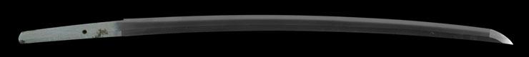 katana [tenshozan fujiwara kanenaga use unti rust steel Showa13] Picture of blade