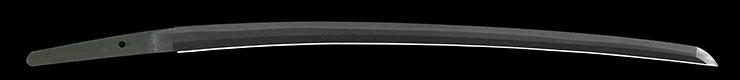 wakizashi [bizen no_kuni toshimitsu] (HOREKI) (name of after hichibejo sukesada) (9 generation) Picture of blade