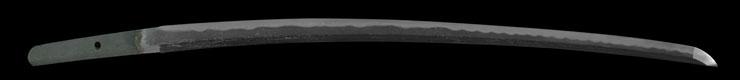 wakizashi [bishu osafune sukesada EISHO 8] (with tachi koshirae) Picture of blade