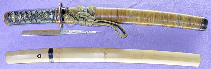 wakizashi [matsuoh] (SHOWA) Picture of SAYA