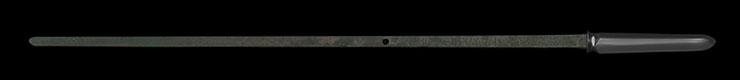 yari [mishina oumi_no_kami hisamichi] (1 generations) (sintou jou-saku) (wazamono) Picture of blade