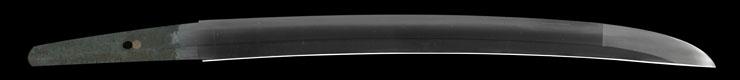 wakizashi [kashu_ju fujiwara iehira] Picture of blade